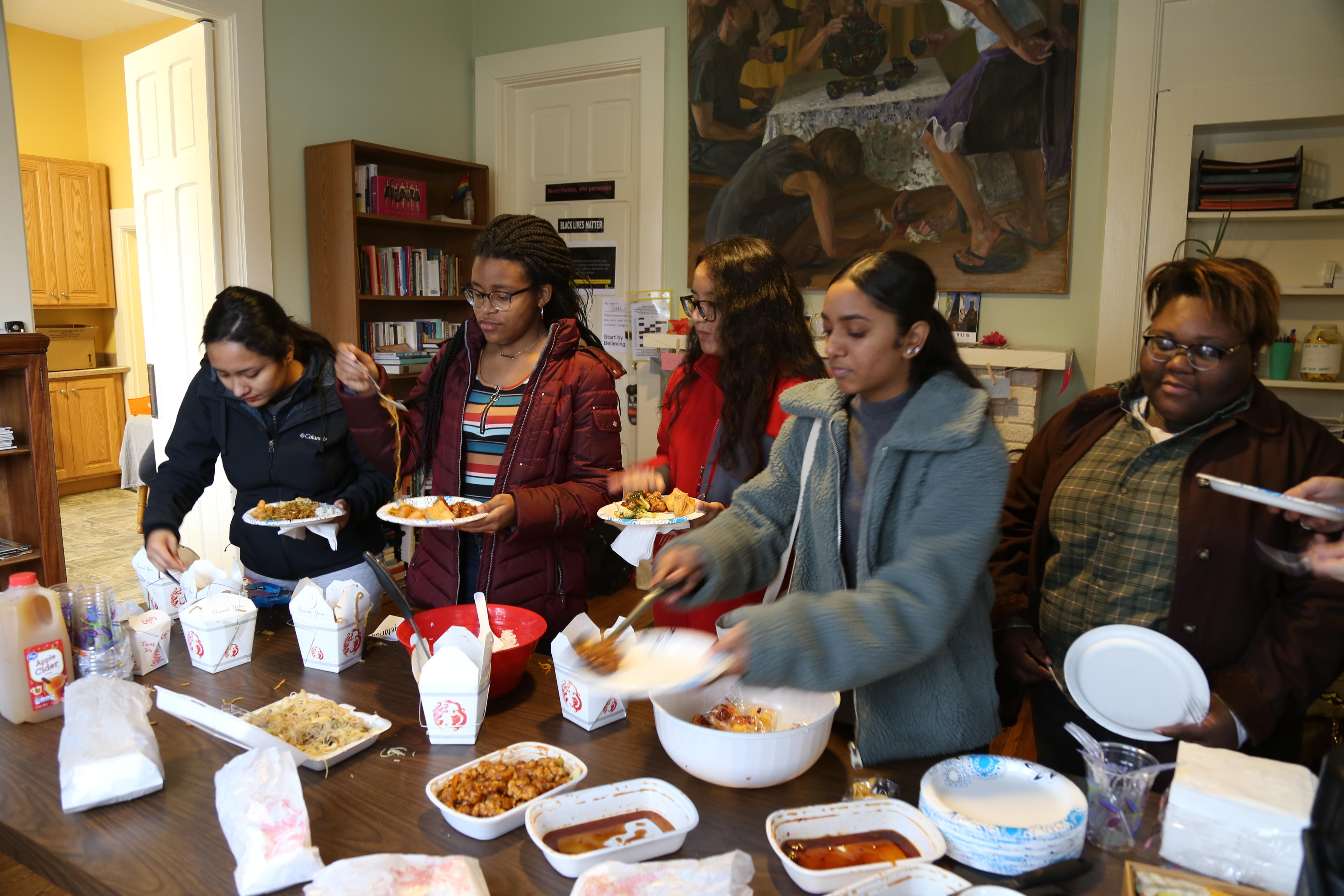 Women's Center Lunch