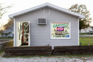 Grateful Pie is located in a small building at 308 East Berry St. The builidng has no seating. SAM CARAVANA/ THE DEPAUW