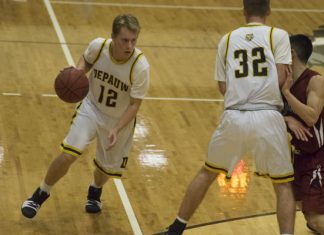 DePauw men's basketball beats Rose-Hulman 68-66